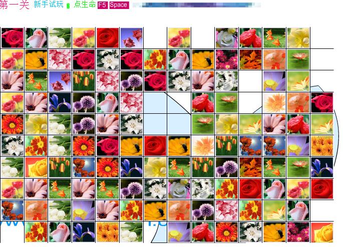 Игра Маджонг цветочная страна