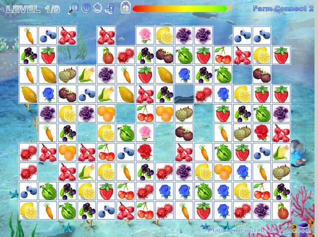 Маджонг Фрукты и Овощи онлайн
