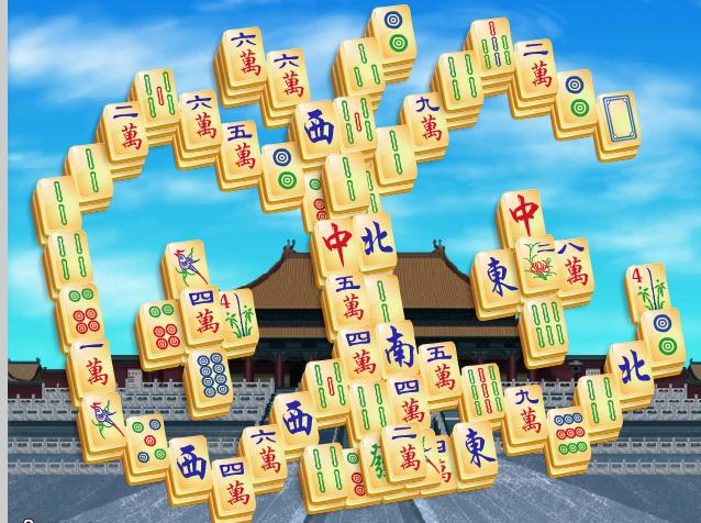 Игра Китайский Маджонг