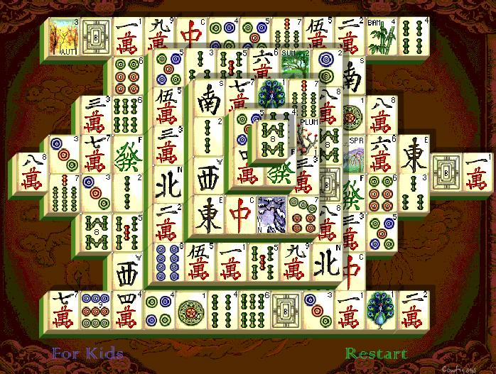 Маджонг Шанхайская династия