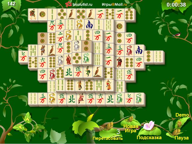 Сады маджонга онлайн